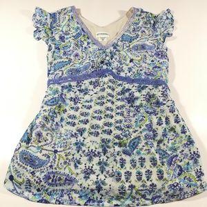 Motherhood Maternity Tops - Motherhood maternity Paisley bird print blouse XL